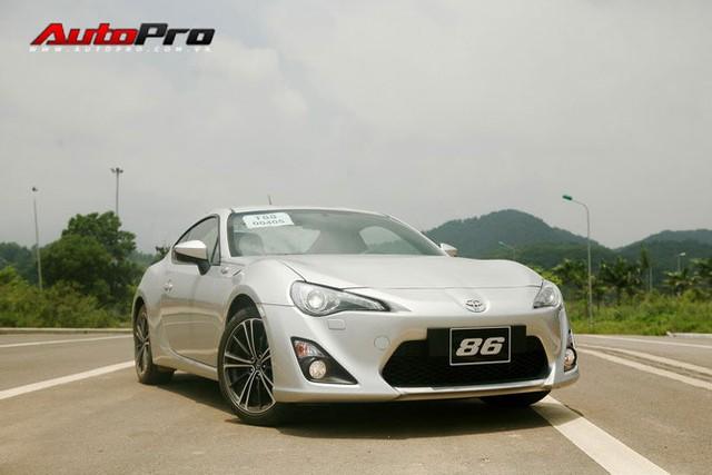 Toyota 86, mẫu xe thể thao khó kiếm được vị trí ở một thị trường như Việt Nam.