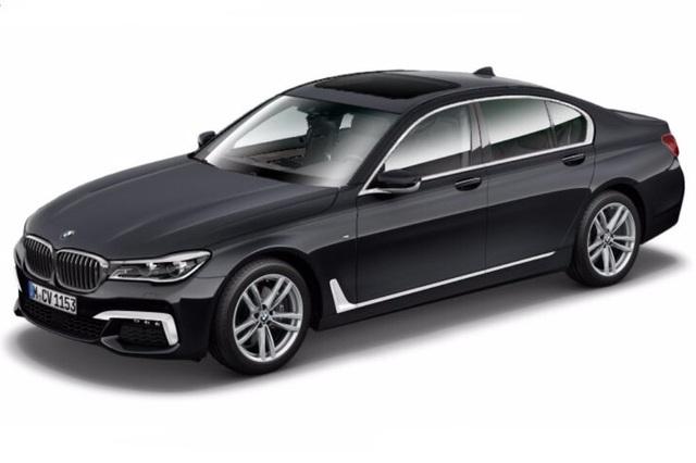 Hình ảnh rò rỉ của BMW 730i mới.