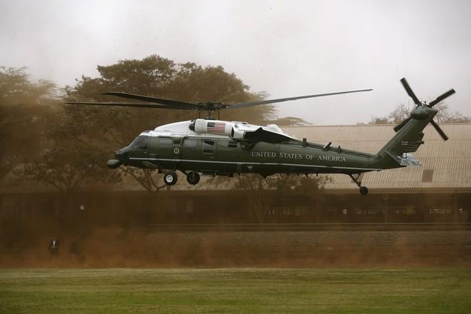 Loại trực thăng này có thể tiếp tục bay ngay cả khi 1 trong 3 động cơ bị hỏng.