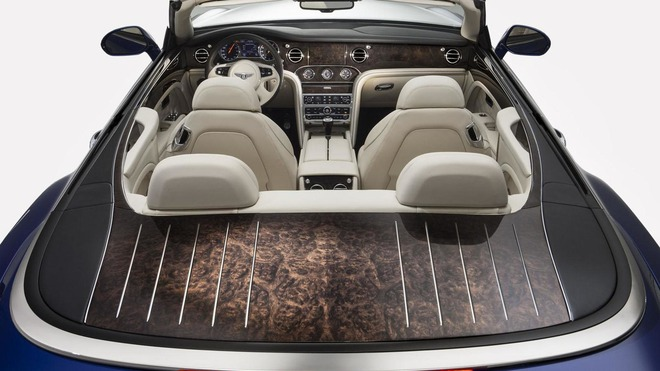 Nội thất của Bentley Grand Convertible