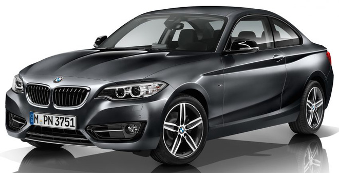 BMW 2-Series Coupe 2017