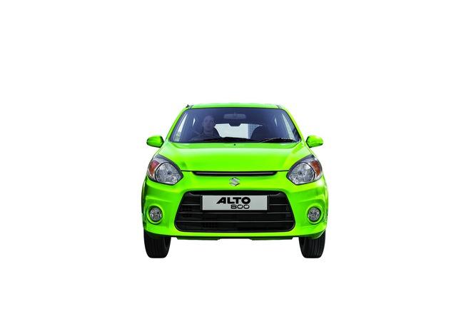 Thiết kế đầu xe mới của Suzuki Alto 800 2016