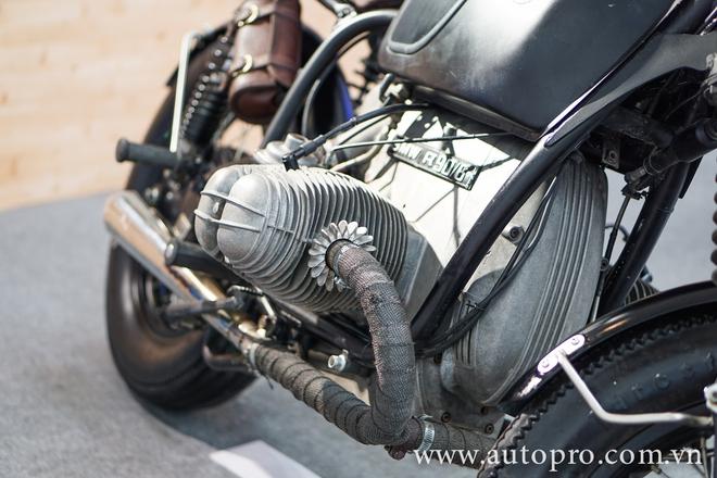 Khối động cơ Flat-Twin dung tích 900cc của BMW ở thời kỳ đầu.