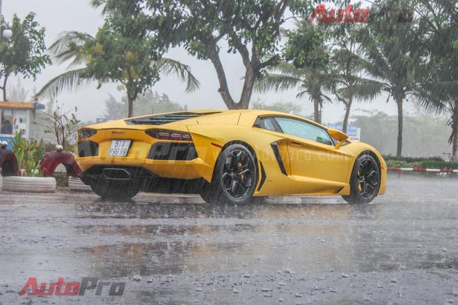 Lamborghini Aventador được trang bị động cơ V12, dung tích 6,5 lít, sản sinh công suất tối đa 700 mã lực tại vòng tua 8.250 vòng/phút và mô-men xoắn 690 Nm tại vòng tua 5.500 vòng/phút.