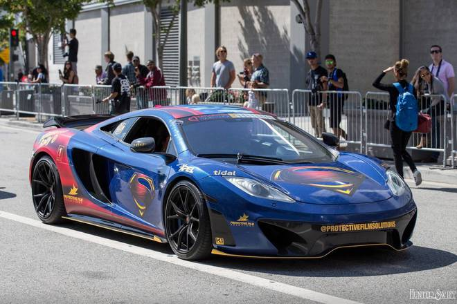 Siêu xe đến từ Anh Quốc, McLaren.