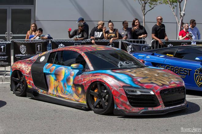 Siêu xe Audi R8.