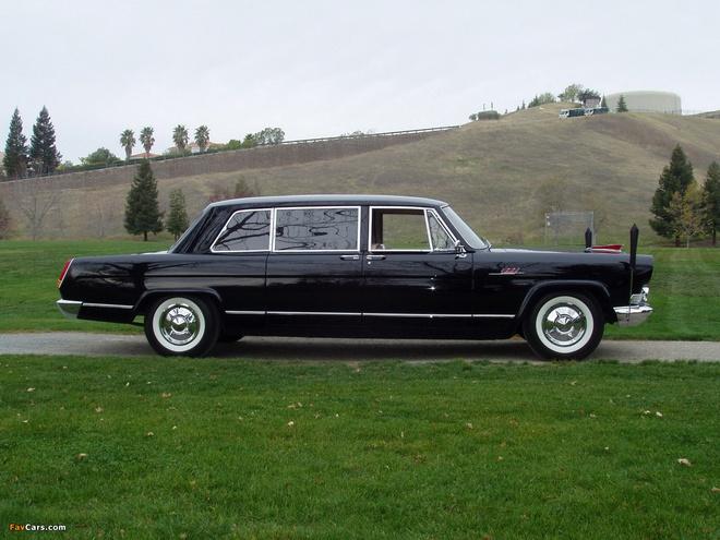 Hồng Kỳ CA770 sử dụng động cơ Chrysler.