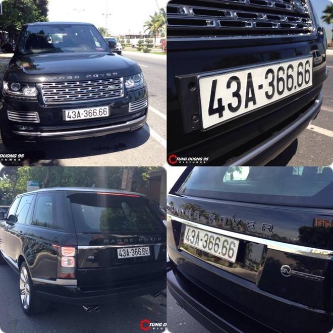 Range Rover SVAutobiography LWB với chiếc biển tứ quý 6 đẹp mắt.