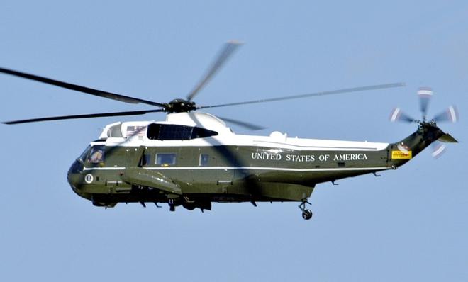 Những chiếc trực thăng được chế tạo riêng cho Tổng thống Mỹ có tên gọi thân mật là White Tops.