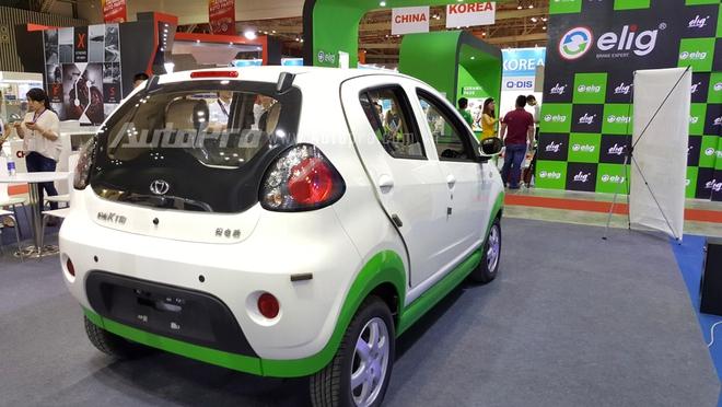 Thiết kế tổng thể của chiếc ô tô điện này khá giống với Kia Morning.
