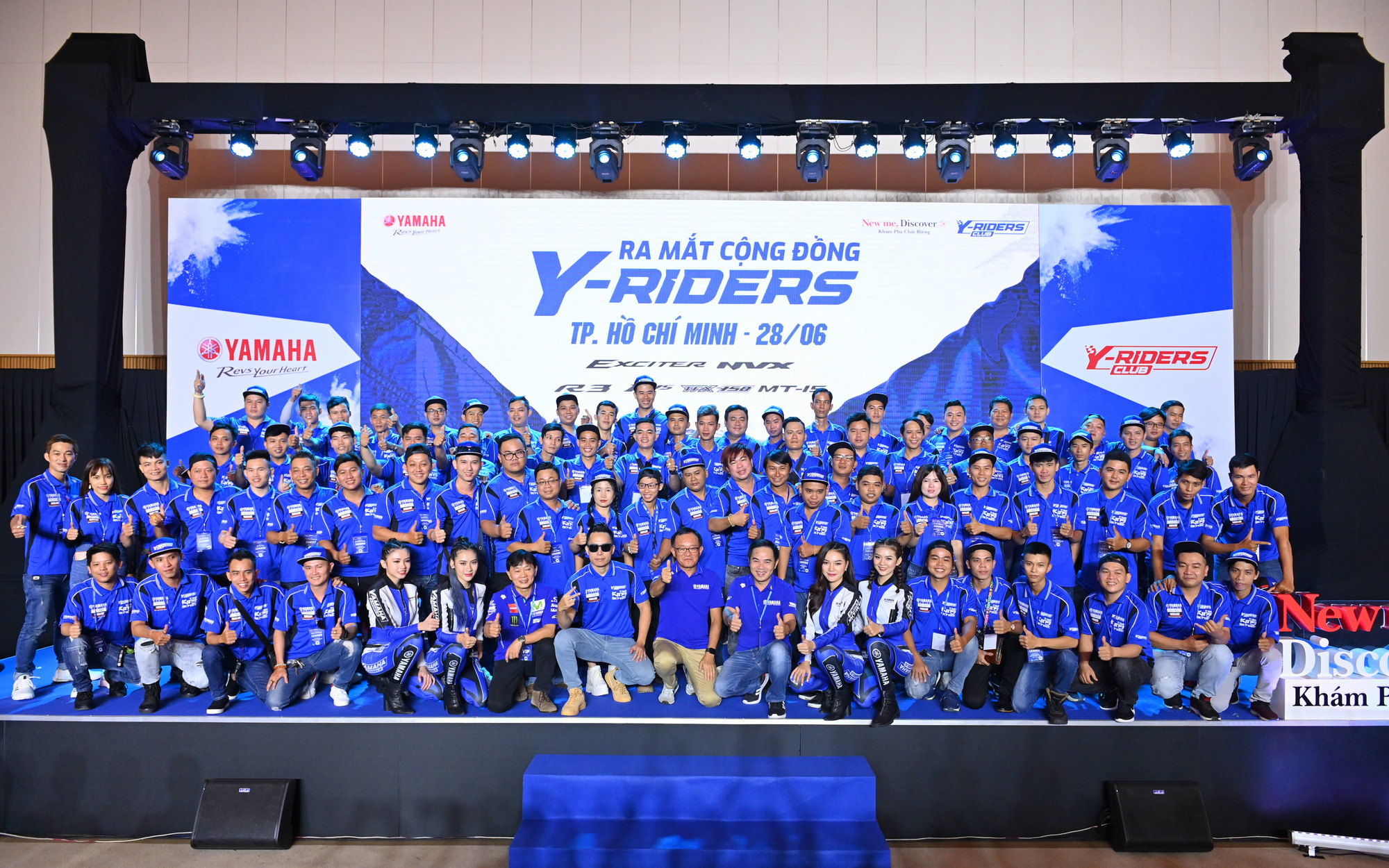 Yamaha vừa ra mắt Y-Riders Club đã có hơn 5.000 thành viên và 300 câu lạc bộ chính thức