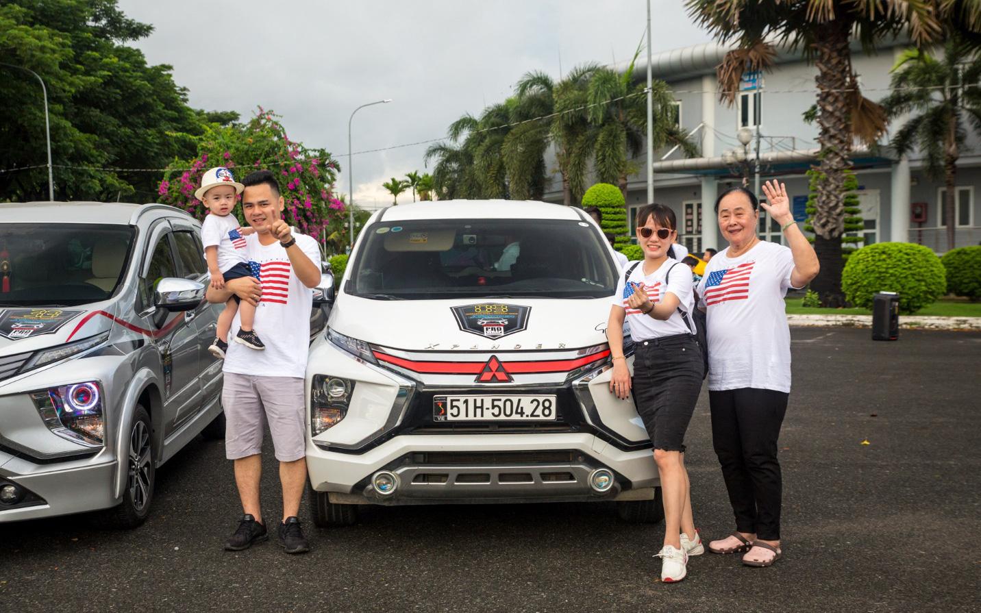 Gần 100 xe Mitsubishi Xpander tụ hội - Hành trình nhỏ, ý nghĩa lớn