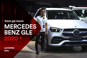 Đánh giá nhanh Mercedes-Benz GLE 450 2020: Tăng mọi thứ có thể để chiều khách Việt