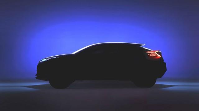 Toyota C-HR – Đối thủ mới của xe crossover giá rẻ Honda Vezel