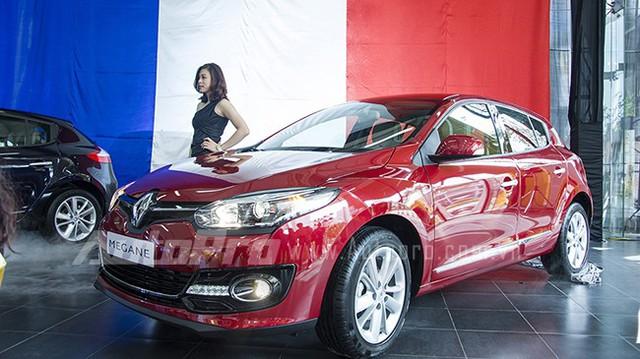 Renault Megane Hatch ra mắt khách hàng Việt với giá 980 triệu