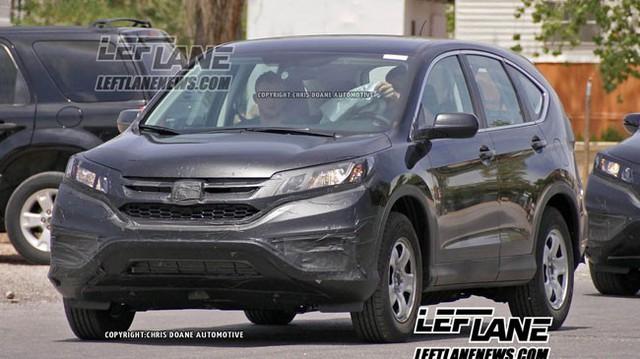 Honda CR-V 2016 xuất đầu lộ diện