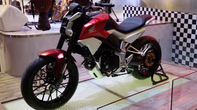 Honda SFA - Xe naked bike lạ mắt mới