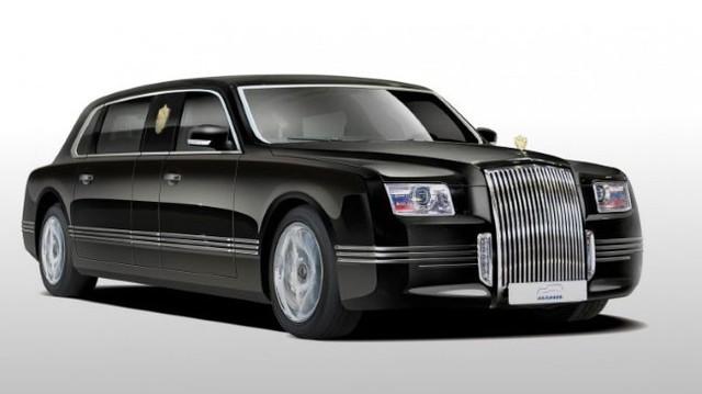 Limousine của tổng thống Nga dùng động cơ Porsche cực mạnh