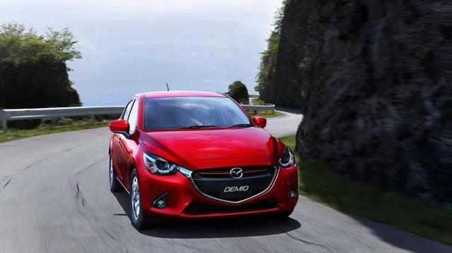 Mazda2 thế hệ mới siêu tiết kiệm nhiên liệu với 3,4 lít/100 km