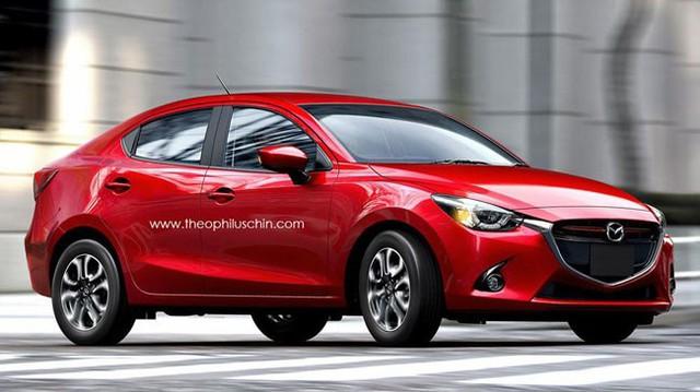 Mazda2 có thêm phiên bản sedan hoàn toàn mới