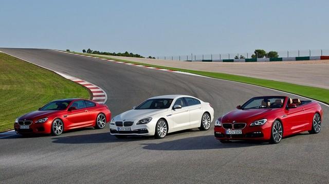 Xe sang BMW 6-Series và M6 có bản nâng cấp mới