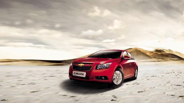 Ra mắt Chevrolet Cruze 2014 giá từ 560 triệu