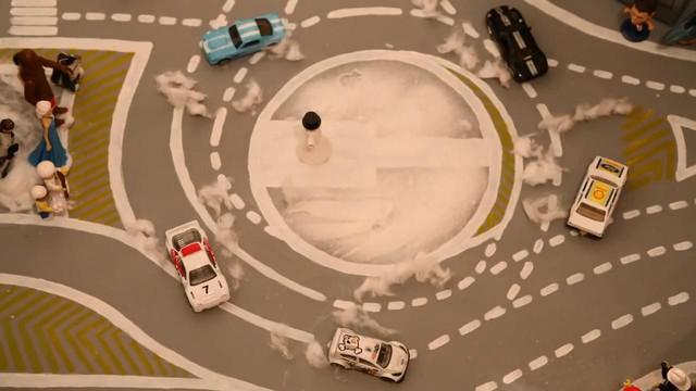 Ford tái hiện Gymkhana 7 của Ken Block bằng xe mô hình