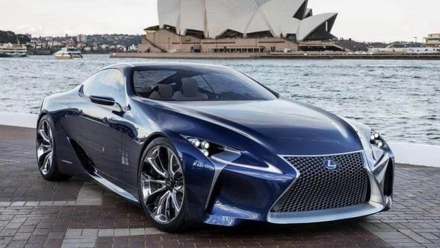 Siêu xe mới của Lexus có tên LC 500 và LC 500h
