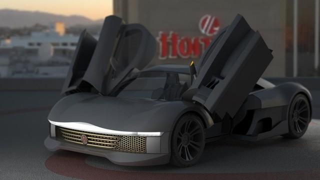 Minerva J.M. Brabazon - Siêu xe lạ có công suất 1.200 mã lực