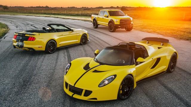 """Siêu xe Hennessey Venom GT 2016 đã mạnh nay còn """"khủng"""" hơn"""