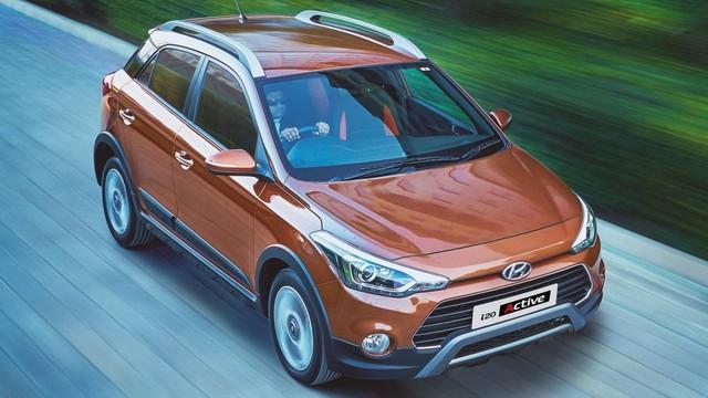 Xe cỡ nhỏ Hyundai i20 Active: Cơ bắp và nam tính hơn