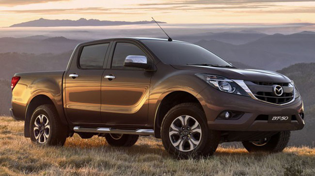 Xe bán tải Mazda BT-50 2016 lần đầu tiên lộ diện chính thức