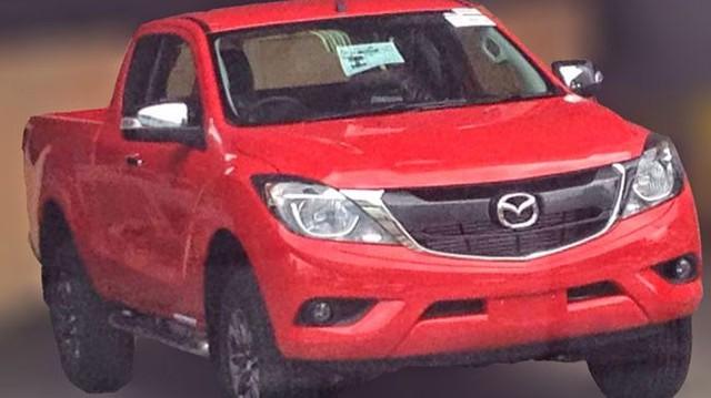 Mazda BT-50 phiên bản nâng cấp bất ngờ lộ diện
