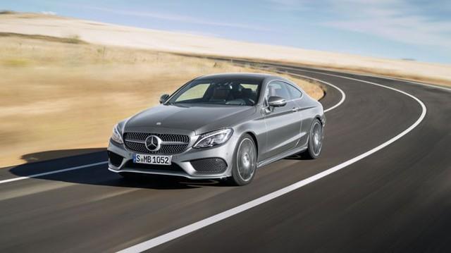 Mercedes-Benz C-Class Coupe 2016 có 6 động cơ khác nhau