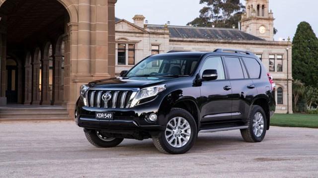 Toyota Land Cruiser Prado 2016 ra mắt, giá từ 831 triệu Đồng tại Úc