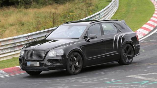 SUV siêu sang Bentley Bentayga sẽ có phiên bản nhanh và mạnh hơn