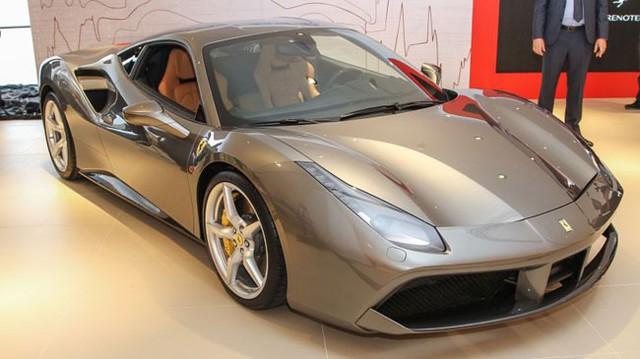 Siêu xe Ferrari 488 GTB ra mắt thị trường Đông Nam Á