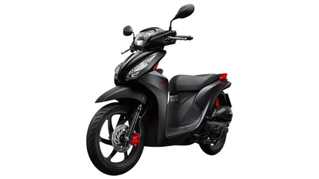 Honda Vision Màu Mới Chính Thức Ra Mắt Giá Không đổi