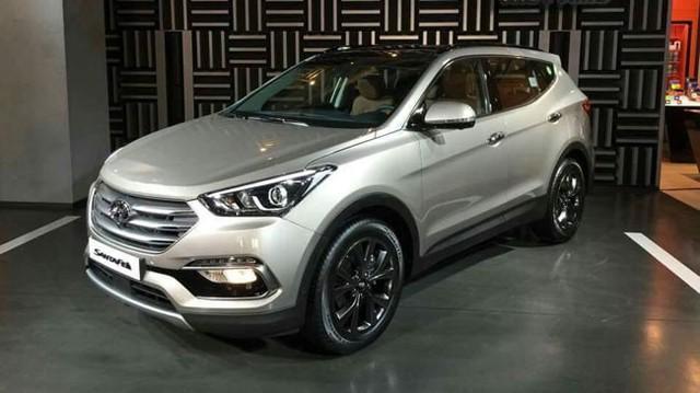 Hyundai chính thức giới thiệu Santa Fe 2016