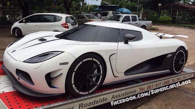"""Siêu xe Koenigsegg Agera R đặt chân đến Lào, người Việt """"phát thèm"""""""