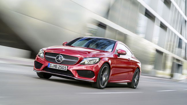 Mercedes-Benz C-Class Coupe 2016 lộ diện, thiết kế giống S-Class Coupe