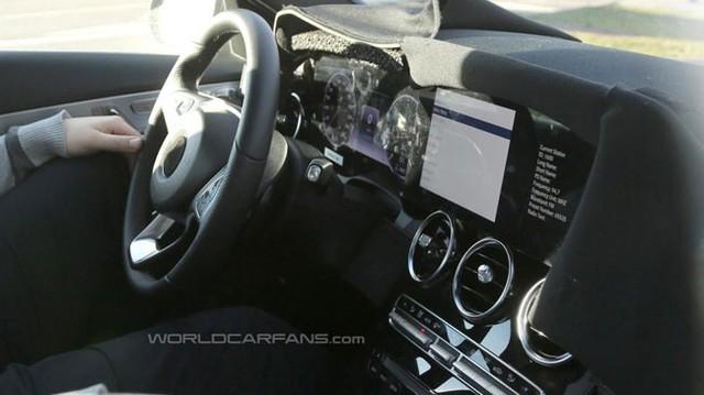 Mercedes-Benz C-Class bí ẩn với bảng táp-lô kỹ thuật số như S-Class