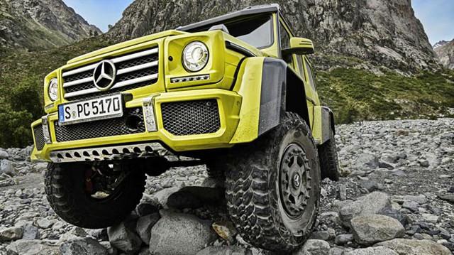 Mercedes-Benz G500 4x4² - Xe việt dã với la-zăng nửa mét