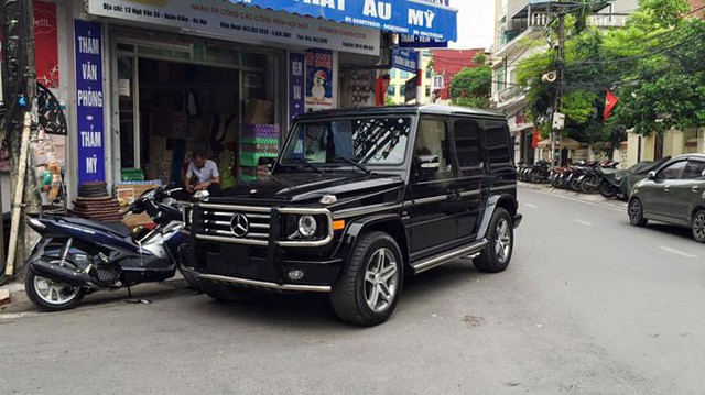 """Bắt gặp """"ông hoàng việt dã"""" Mercedes-Benz G55 AMG tại Hà Nội"""