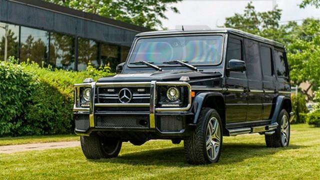 Mercedes-Benz G63 AMG biến thành limousine bọc thép triệu đô