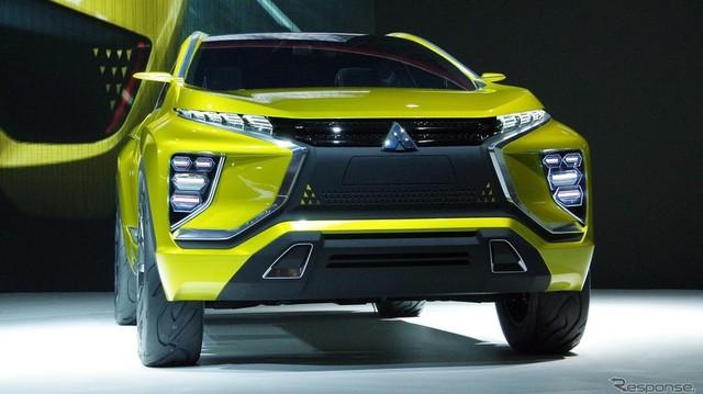 Mitsubishi ASX thế hệ mới lộ diện qua xe concept eX