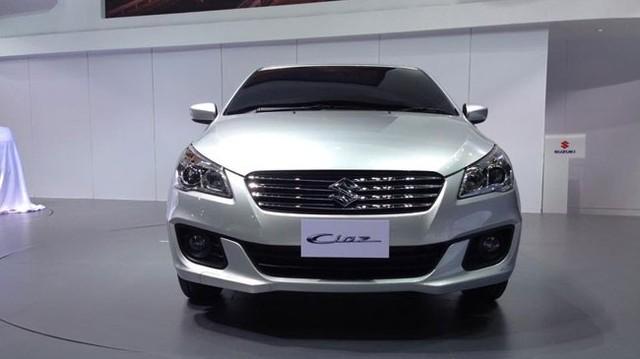 Suzuki Ciaz rẻ và tiết kiệm nhiên liệu ra mắt tại Thái Lan