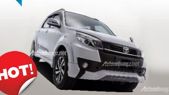 Toyota Rush 2015 – Xe SUV cỡ nhỏ có thiết kế giống Fortuner
