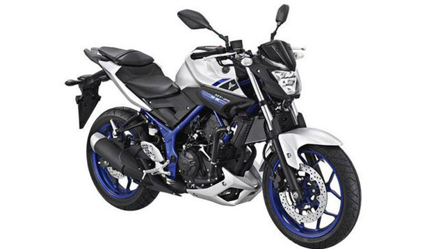 Xe naked bike Yamaha MT-25 trình làng, giá từ 75 triệu Đồng