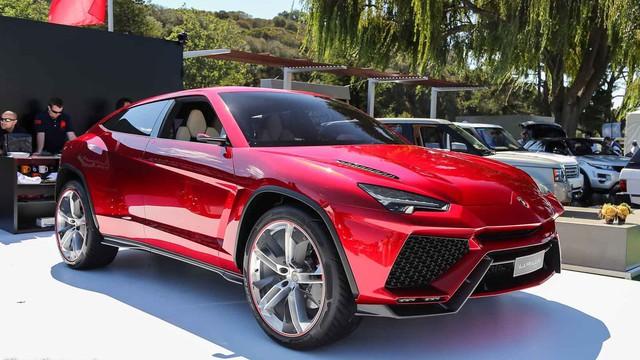 Siêu SUV Lamborghini Urus sẽ dùng động cơ tăng áp hoặc hybrid